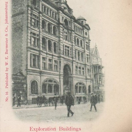 Йоханнесбург, ЮАР - Exploration Buildings - 1912 г. (г48)